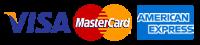 Métodos de pago: visa, mastercard, american express