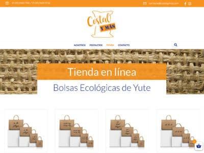 Ejemplo diseño web costalymas.com