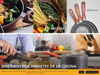 Ejemplo diseño web lamex.com.mx