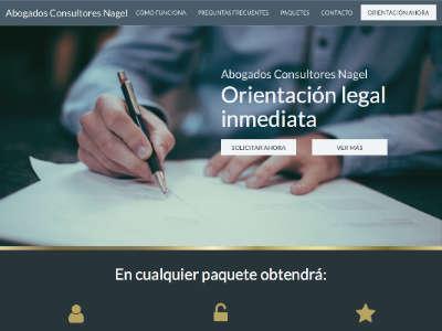 Ejemplo diseño web de asesorateahora.com